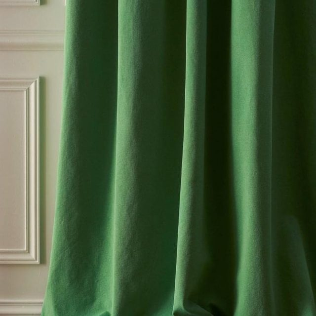 DS green curtains