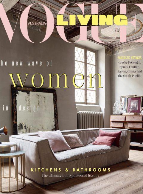 Vogue living cover Oct 2018