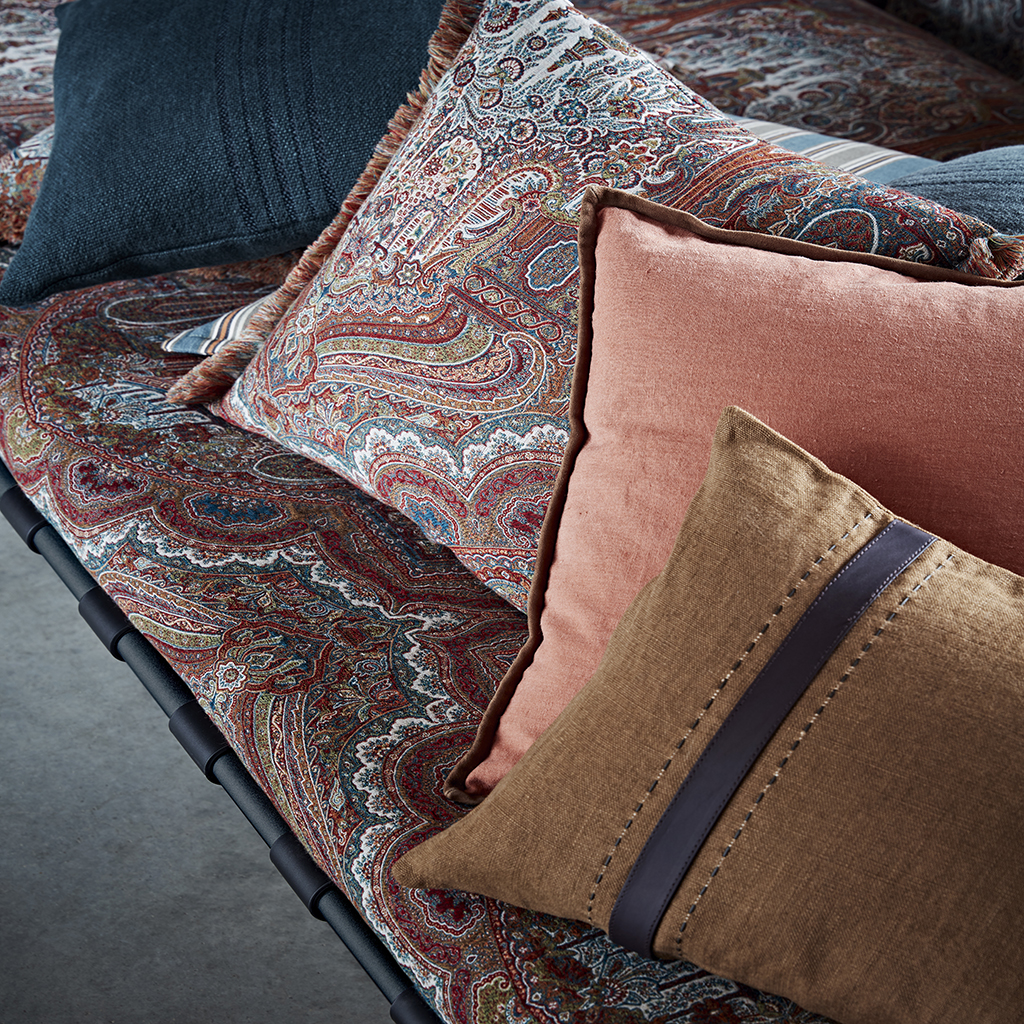 DE new collection 2020 cushions victoria, bracken, hoxton