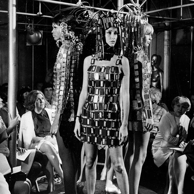 Paco Rabanne Unwearable dress