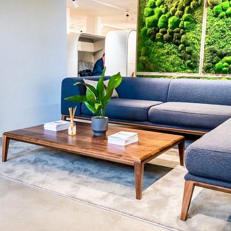BE Tiree sofa public space FR Fabric