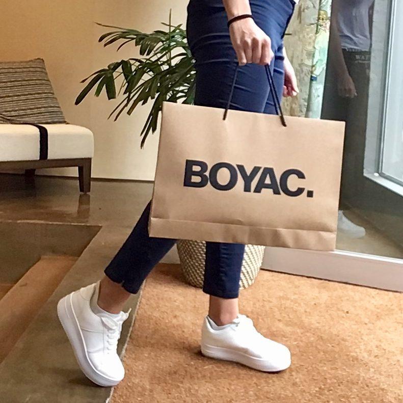 Boyac Recyclable Bags Walk